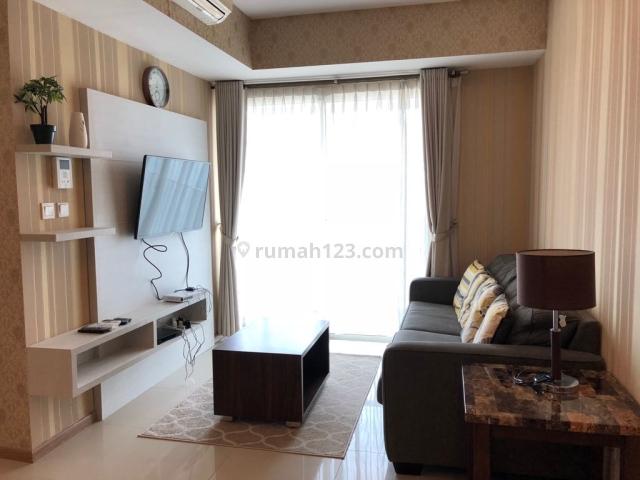 BU Casagrande Apartment Tipe 2BR Luas 80m2, Furnished (Mrio), Tebet, Jakarta Selatan