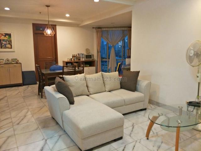 apartemen mitra oasis at senen 3br lantai tengah tower b furnished, senen, jakarta pusat