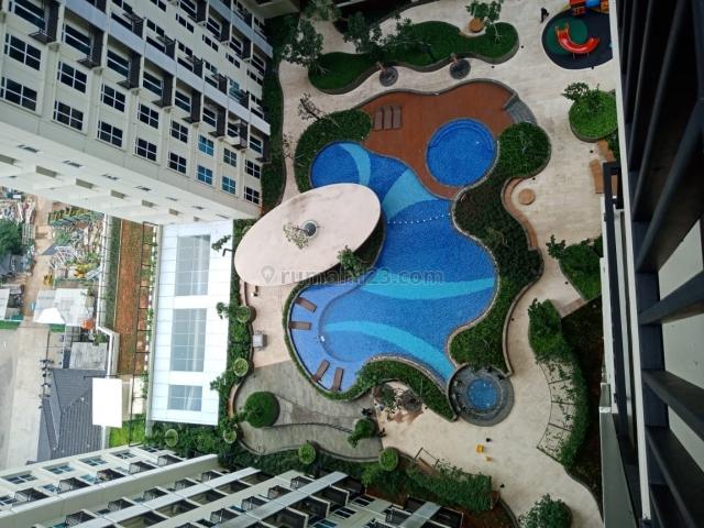 apartemen puri orcard 1br 600jt view pool, Puri Indah, Jakarta Barat