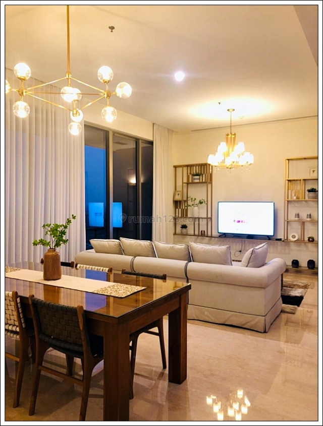 PAKUBUWONO SPRING APARTMENT, Fully Furnished Brand New, 2br+1 maid, Private Lift, Jakarta Selatan, Pakubuwono, Jakarta Selatan
