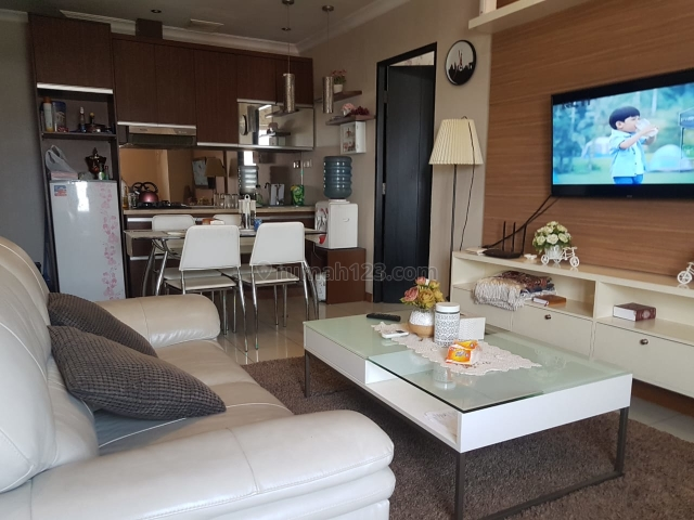 Apartemen Cervino Village 3 kt luas 78 m lt 10, furnish mewah, Tebet, Jakarta Selatan