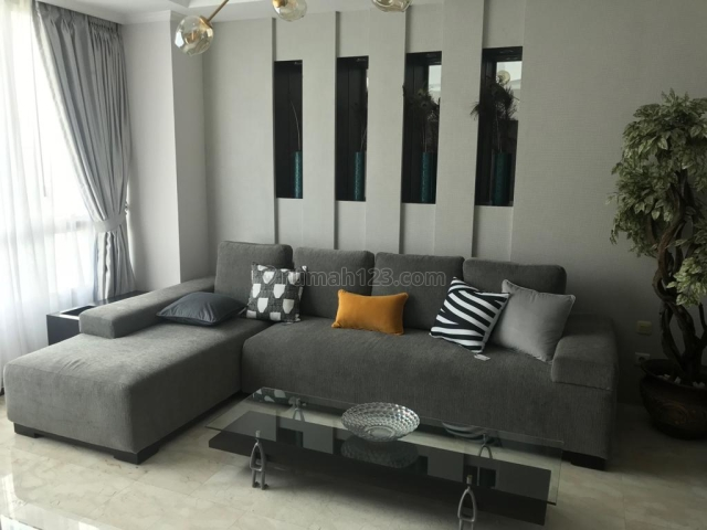 Apartemen Puri Imperium 3BR Full Furnishe High Floor, Kuningan, Jakarta Selatan