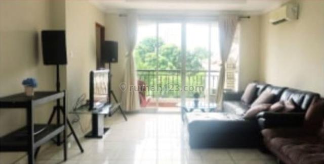 apartemen mediterania lagoon kemayoran 3br furnished lantai rendah, kemayoran, jakarta pusat