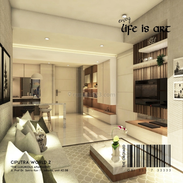The Orchaed Satrio Apartemen CW 2 ( Jaksel), Prof. Dr. Satrio, Jakarta Selatan