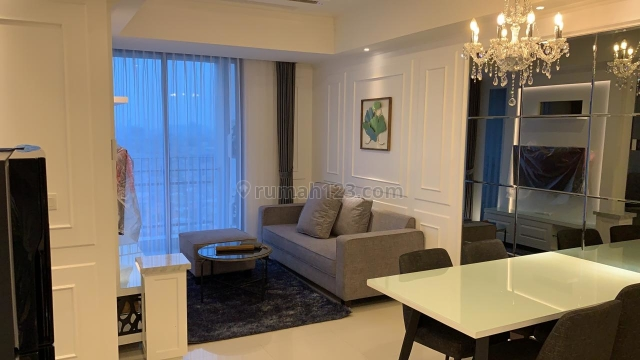 The Best Interior, on The Tents Floor, 2BR Brand New and Full Furnished (Ready to Move-in) in Casa Grande Residence Phase II Connected to Mall Kota Kasablanka, Cassablanca, Jakarta Selatan