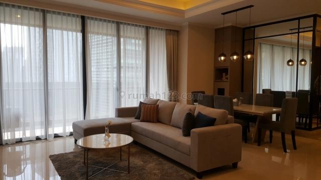 Apartemen Mewah District 8 Senopati 4BR Middle Floor Siap Huni, Kebayoran Baru, Jakarta Selatan