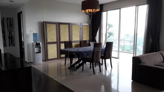 Apartemen Nirvana Kemang Raya 4BR, Luas 244m2 Furnished, Pool (Ed), Mampang Prapatan, Jakarta Selatan