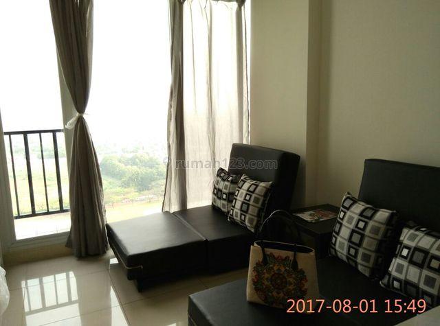 02 BEDROOM APARTMENT BARU SEMI FURNISHED DI PUSAT BSD HANYA 900 JUTA SAJA, BSD City, Tangerang