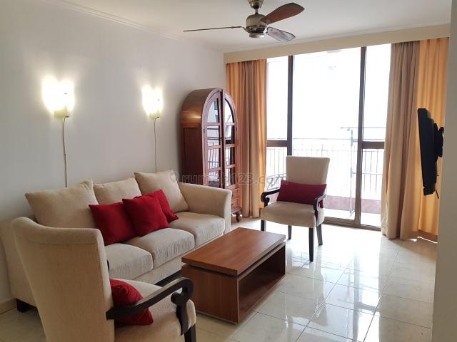 Apartemen Taman Rasuna 2 BR  Tower Depan View Bagus Harga nego, Kuningan, Jakarta Selatan