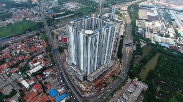 Apartemen murah dengan Fasilitas Lengkap dekat pintu Gerbang Tol Cikarang Barat, Cikarang Selatan, Bekasi