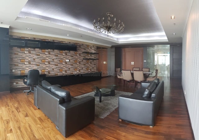 Apt Kempinsky Residence 3Br 4400 Usd Unit 18 Sangat Bagus, Thamrin, Jakarta Pusat