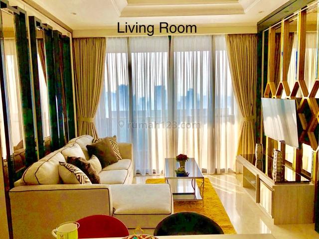 Apartment District 8 Tower Eternity, 2+1BR, Furnish Mewah - Jakarta Selatan, Senopati, Jakarta Selatan