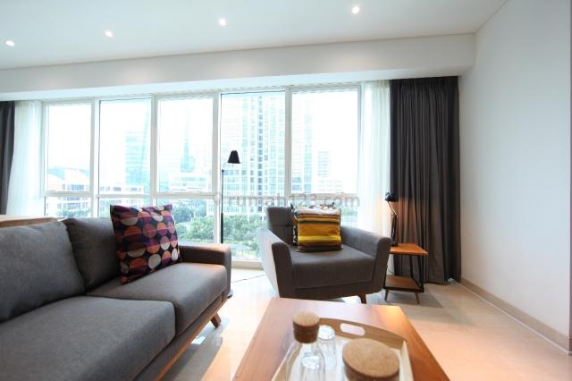 Apartment Setiabudi Sky Garden Tower Garden 3BR 155sqm Full Furnish Ready To Stay, Setiabudi, Jakarta Selatan