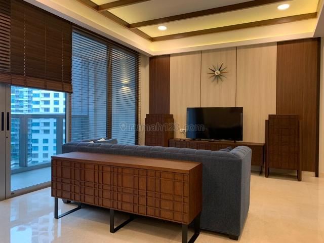 Apartement Anandamaya Residence - 2 Bedroom Simple and Bold Furnished, Sudirman, Jakarta Selatan