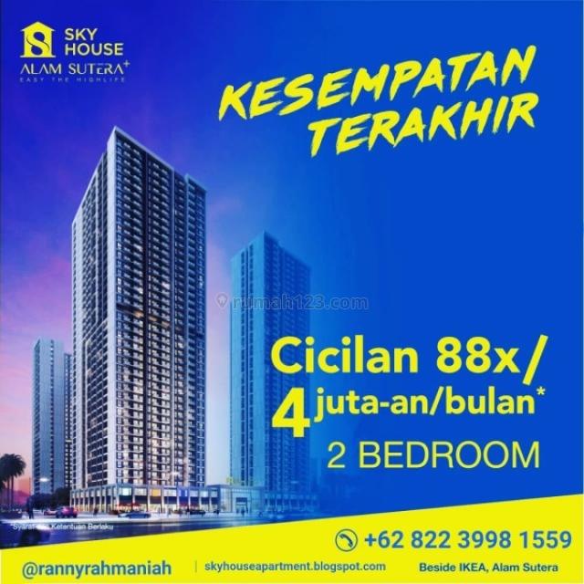 Sky House Alam Sutera+, Apartemen Millenial di CBD Alam Sutera MP341, Alam Sutera, Tangerang