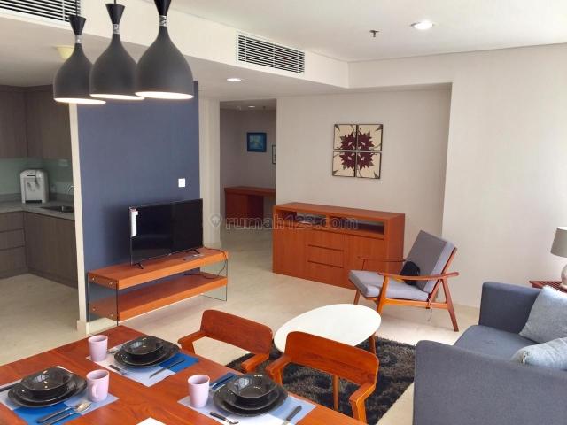 Ciputra World 2 Apartment Jakarta Selatan - 2BR + Studyroom (112 sqm), Very Good Condition, Setiabudi, Jakarta Selatan
