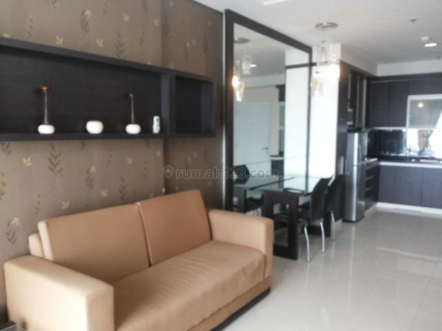 Apartemen 2br+1 Lavande, Tebet Furnish Lengkap Rapih, Lantai Tinggi, Tebet, Jakarta Selatan