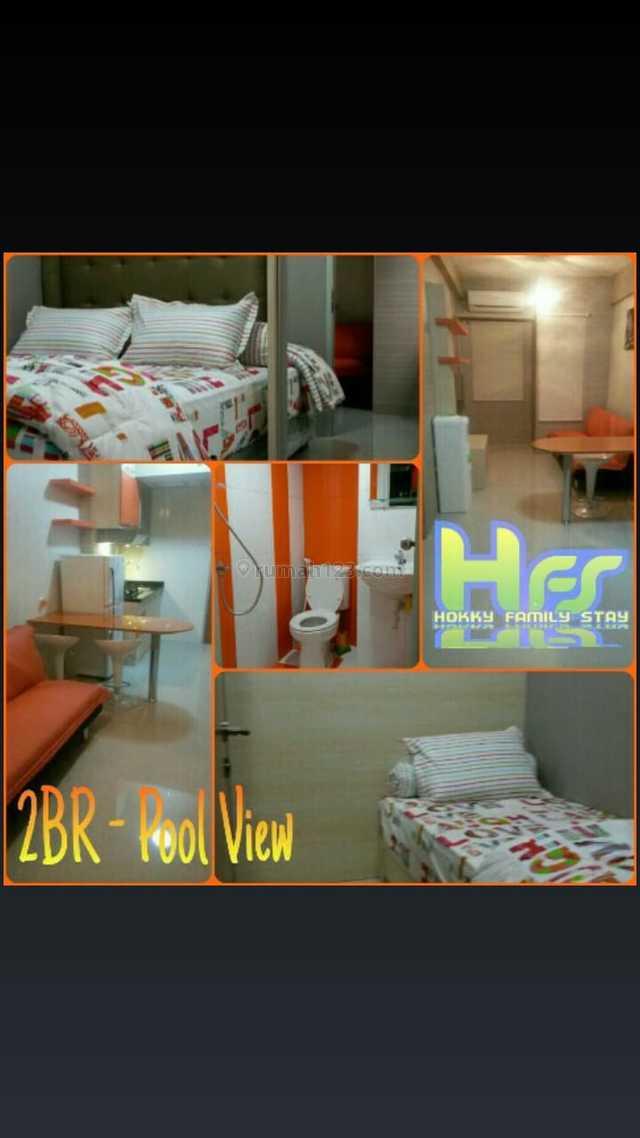 Dijual 2BR Apartement Puncak Permai Tower C Lt. 12, Darmo permai, Surabaya