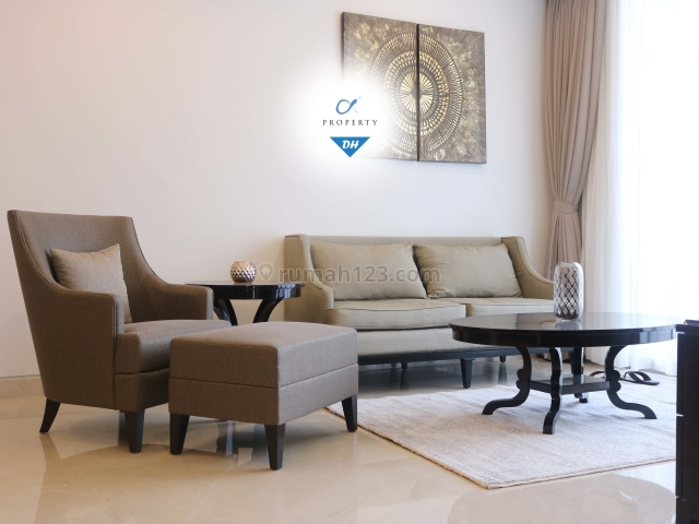 The Elements 3 Bedrooms Fully Furnished for Lease, Kuningan, Jakarta Selatan