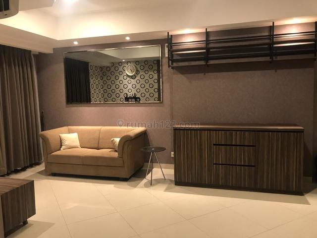 apartemen the mansion kemayoran 2br fully furnished lantai belasan, kemayoran, jakarta pusat