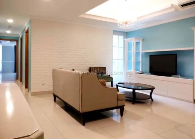 apartemen kemayoran mansion 2br furnished lantai tengah tower jasmine aurora, kemayoran, jakarta pusat
