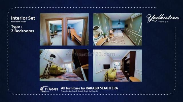 2 Bedroom 69m2 Istimewa dan Terbatas! Apartemen Mataram City Jogja, Ngaglik, Sleman