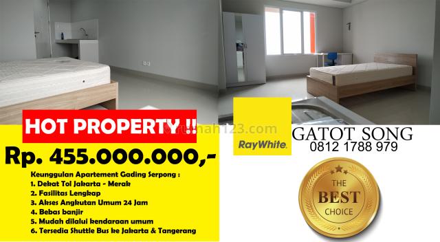 Apartemen PALING MURAH dan Strategis Beverly Trimezia Gading Serpong, Gading Serpong, Tangerang