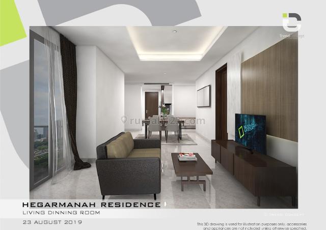 Apartemen Hegarmanah Residence Bandung Type 3 Bedroom, Hegarmanah, Bandung