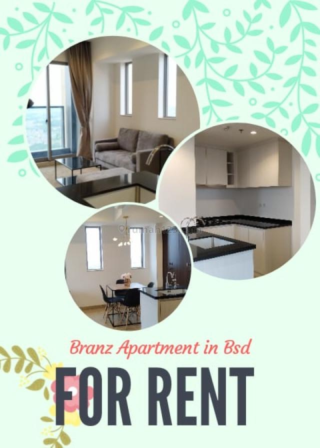 Apartemen Mewah BRANZ BSD Sebelah AEON MALL harga oke SIAP HUNI, BSD, Tangerang