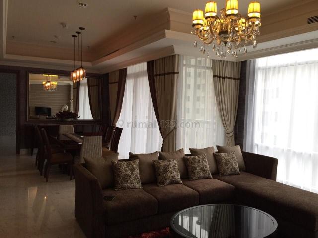 Nicely Furnished 2Bdr Apartment @ Botanica Apartment, Kebayoran Lama, Jakarta Selatan