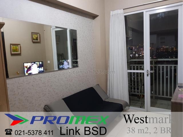 Apartemen Westmark Taman Anggrek Jakarta Barat – 2 Bedroom Furnished View Bagus Harga Terbaik, Tanjung Duren, Jakarta Barat