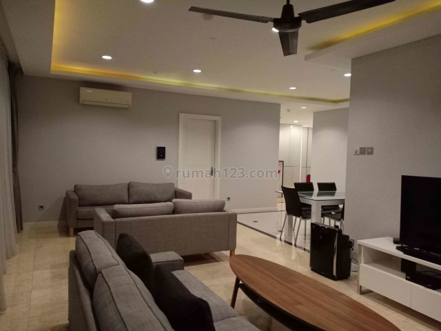 3BR Istana Sahid Fully Renovated & Furnished with Modern-Minimalist Design, Sudirman, Jakarta Selatan