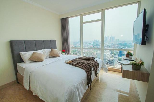 Apartemen Menteng Park , Queen Room In Shared Unit. Cikini, Jakarta Pusat | Bayar Bulanan, Cikini, Jakarta Pusat