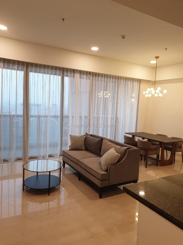 Anandamaya Residence 2BR Furnished with Big Balcony, Sudirman, Jakarta Selatan