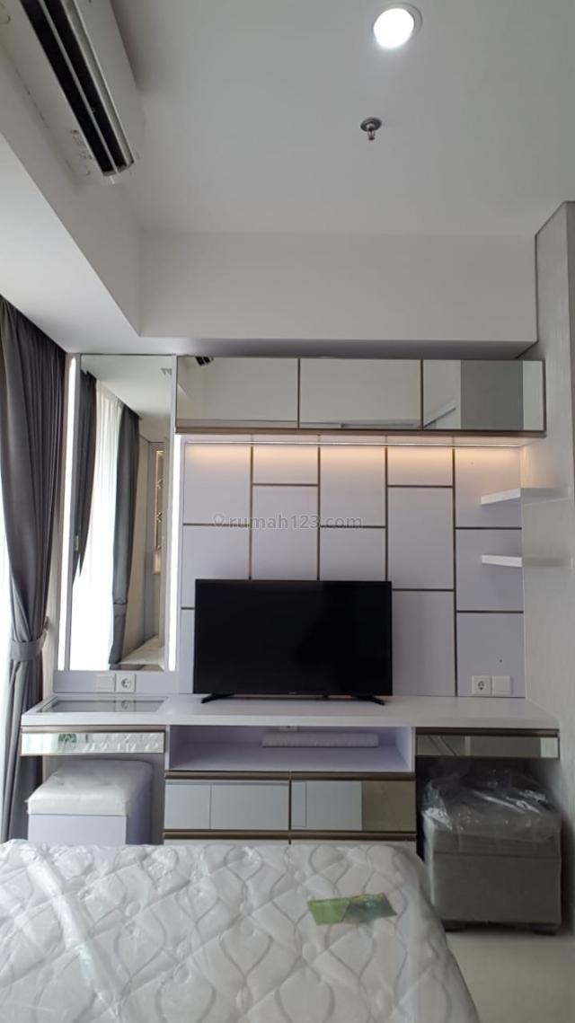 Apartement Taman Anggrek Residence studio Full furnish lengkap baru, Grogol, Jakarta Barat