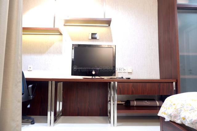 Sebelah Binus ! Cocok untuk Mahasiswa ! Apartemen di Kawasan Pendidikan tipe Studio Fully Furnished Paddington Apartment Alam Sutera, Alam Sutera, Tangerang