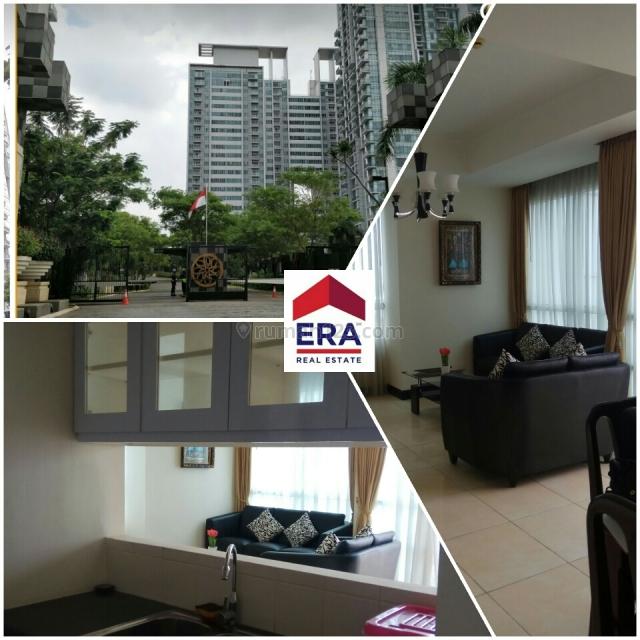 Apartemen 3 BR + Furnished Siap Huni, Prapanca, Jakarta Selatan