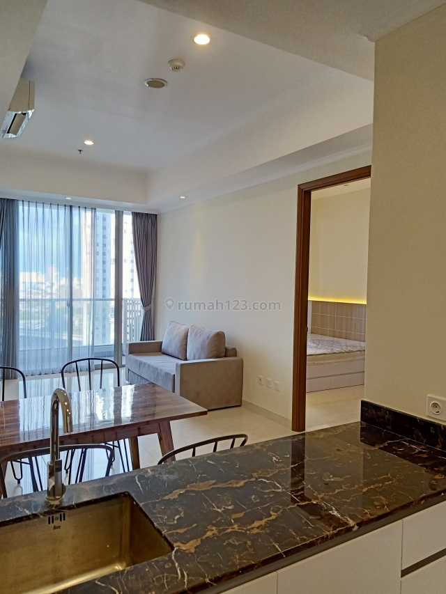 Taman Anggrek Residence 2 BR Condominium, New Full Furnished,  Hadap Timur, Taman Anggrek, Jakarta Barat