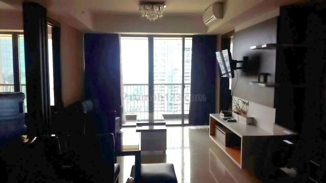 Apartemen St.Moritz New Royal 90m2 Lt.35, Puri Indah, Jakarta Barat