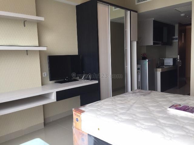 Tipe Studio Apartemen U Residence Lippo Karawaci Furnished , Lippo Karawaci, Tangerang