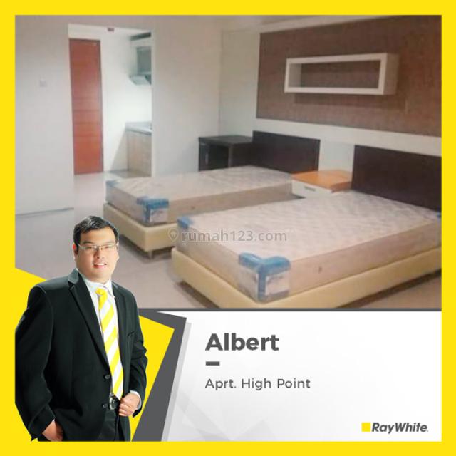 Apartemen High Point Siap Huni, Wonocolo, Surabaya