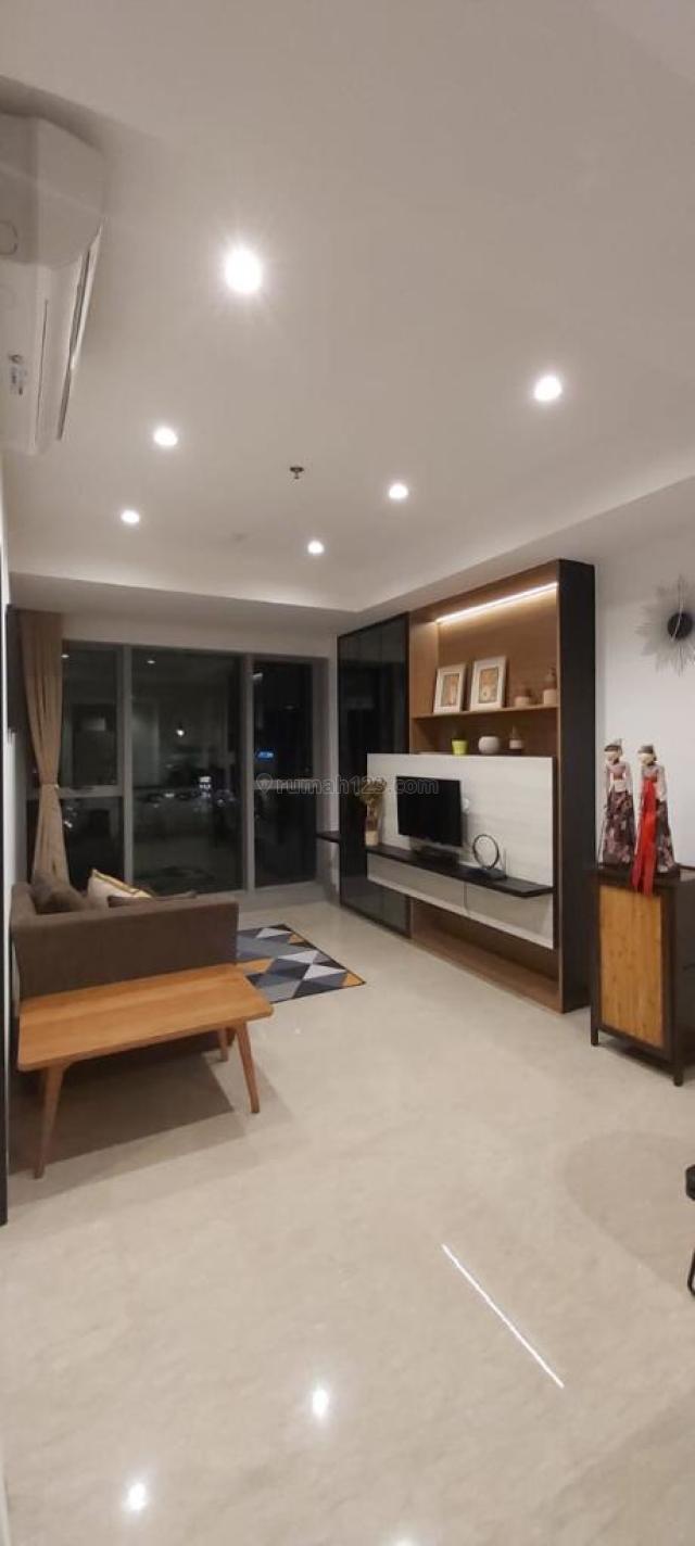 Apartemen Branz 1 BR lantai 15 fully furnished, BSD City, Tangerang