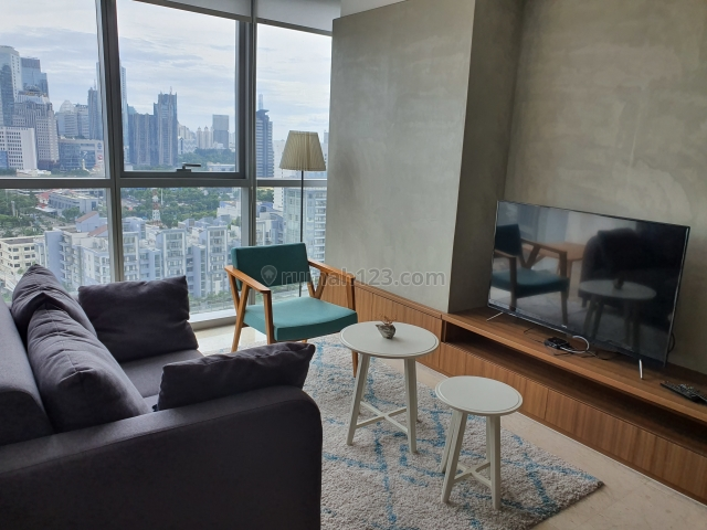 The Best Unit 2BR in a Quiet Residence that Make You Feel Relax Staying in the Heart of Jakarta, Ciputra World 2, Full Furnished with Excellent Interior (Please Click Link Video Attached), Prof. Dr. Satrio, Jakarta Selatan