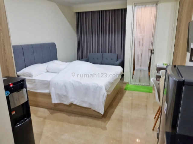Apartment Menteng Park  Unit 35D Type Studio & Furnished A0482, Cikini, Jakarta Pusat