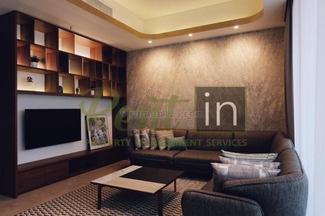 Apartemen Anandamaya Residence 3 Bedrooms High Floor Fully Furnished, Karet Tengsin, Jakarta Pusat