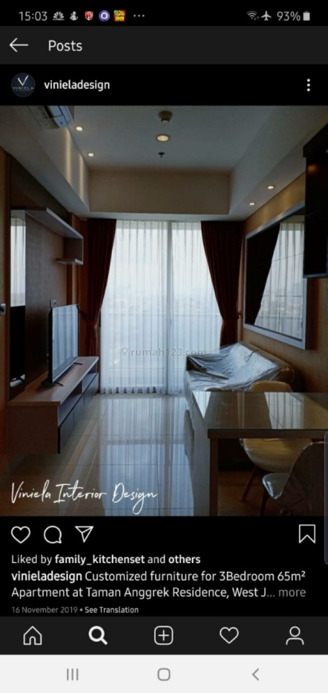 apartement cantik,mewah,strategis di jakbar, Taman Anggrek, Jakarta Barat