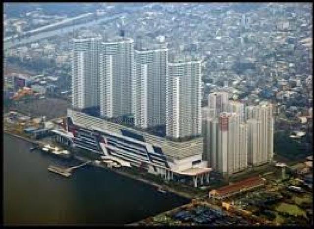 APARTEMEN CONDOMINIUM GREEN BAY PLUIT UKU 41 M2 TWR L SEMI FURNISHED LANTAI 11 VIEW KOTA DAN POOL, Pluit, Jakarta Utara
