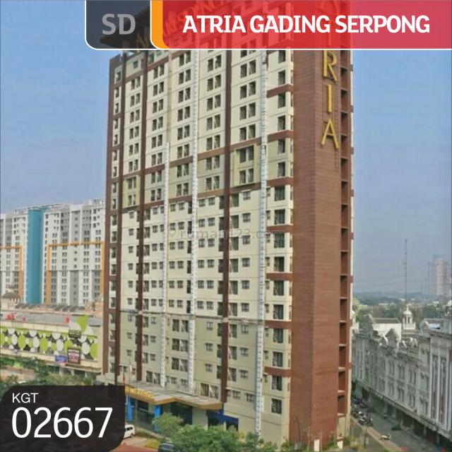 Apartemen  Atria Residence Lantai 12, Gading Serpong, Tangerang, Banten, Serpong, Tangerang