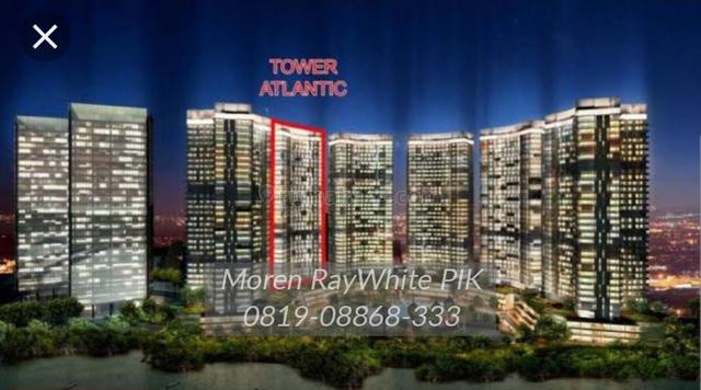 Dijual apartemen goldcoast tower atlantic type studio,pik, Pantai Indah Kapuk, Jakarta Utara