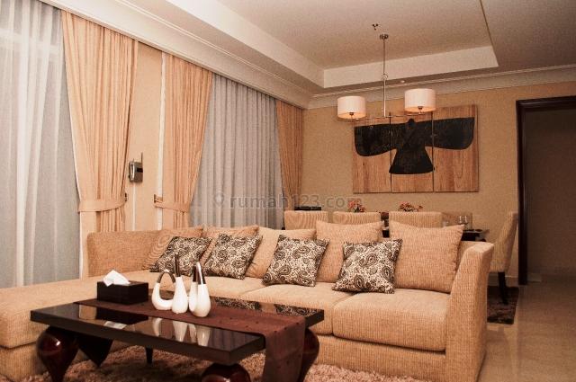 Pakubuwono View 3 bedrooms furnished, Kebayoran Lama, Jakarta Selatan